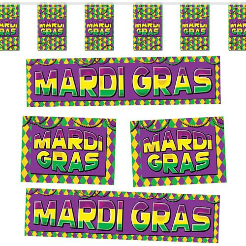 Mardi Gras Themed Decoration Pack