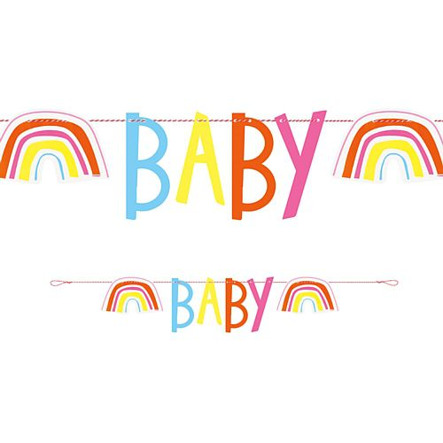 Rainbow Baby 'Baby' Letter Banner - 1.1m