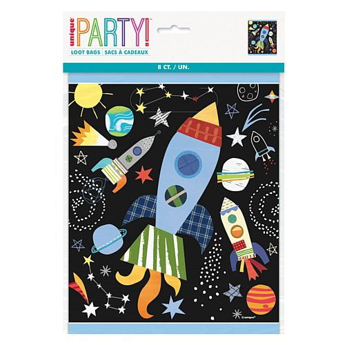 Outer Space Party Bags - Pack of 8