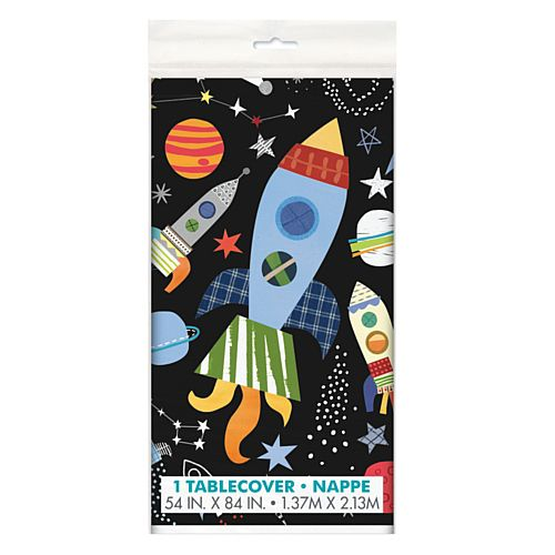 Outer Space Rectangular Tablecloth - 2.1m