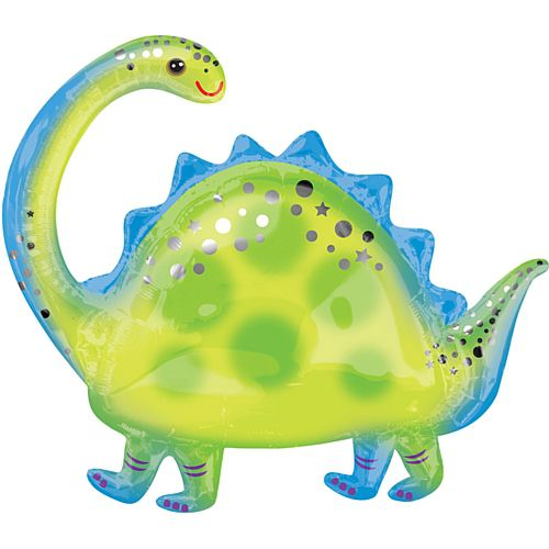 Brontosaurus Supershape XL Foil Balloon - 81cm