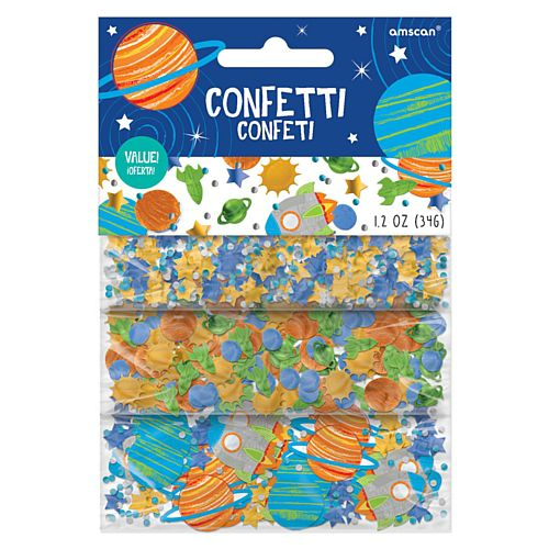 Blast Off Birthday Confetti - 34g - Pack of 3