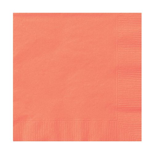 Coral Napkins - Pack of 20