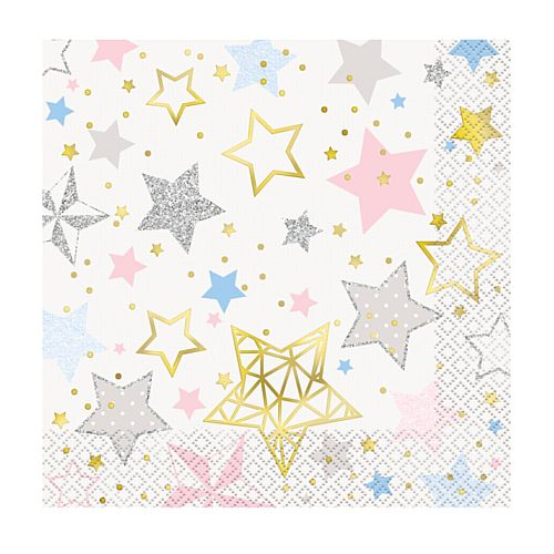 Twinkle Twinkle Little Star Napkins - Pack of 16
