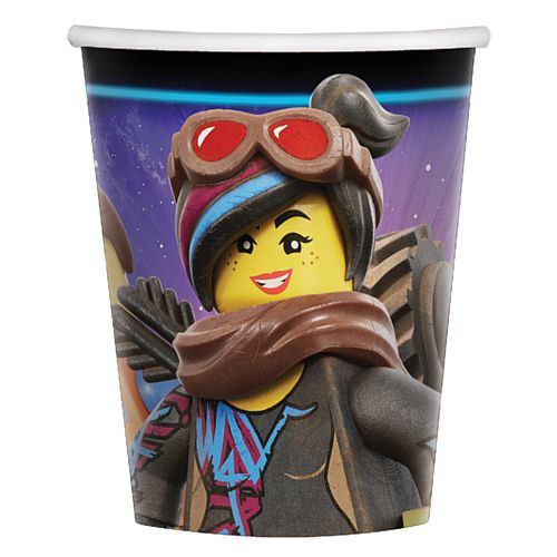 Lego Movie 2 Paper Cups - 266ml - Pack of 8