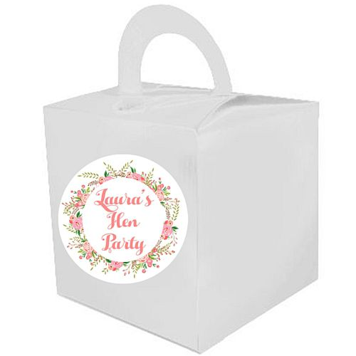 Personalised Boho Favour Boxes - Pack of 15