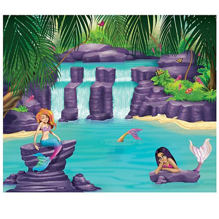 Mermaid Lagoon Backdrop - 1.8m