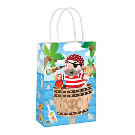 Pirate Paper Party Bags - 21cm - Each