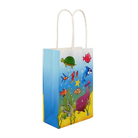 Sealife Paper Party Bags - 21cm - Each