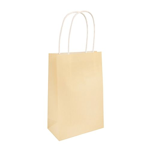 Ivory Paper Party Bags - 21cm - Each