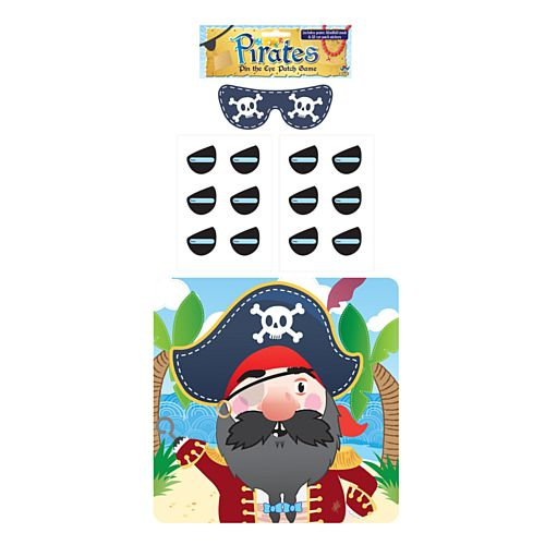 Stick the Eyepatch on the Pirate Game