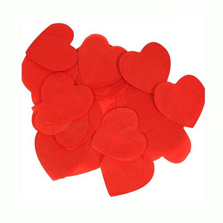 Red Heart Tissue Paper Confetti - 100g