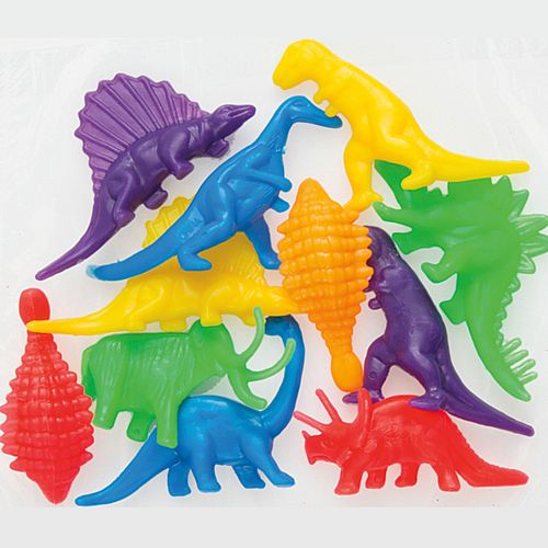 Dinosaur Toy Party Bag Fillers - Pack of 12