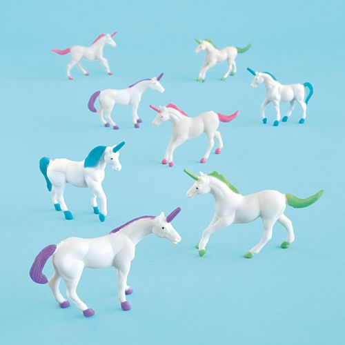 Unicorn Toy Party Bag Fillers - Pack of 8