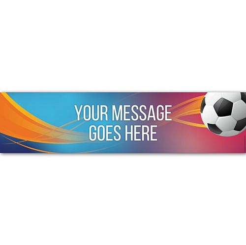 Football Women's World Cup France 2019 Personalised Banner - 1.2m
