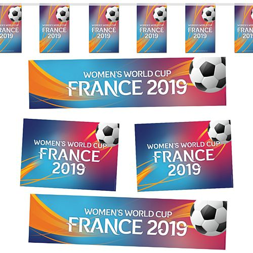 Football Women's World Cup France 2019 Decoration Pack