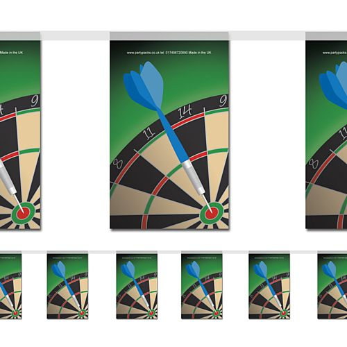 Darts Flag Interior Bunting - 2.4m