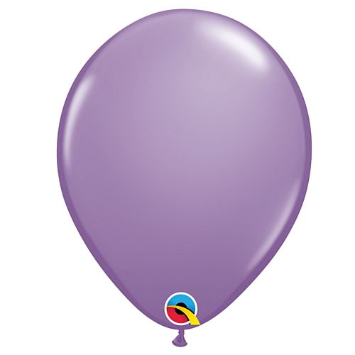 "Spring Lilac Plain Colour Mini Latex Balloons - 5"" - Pack of 10"