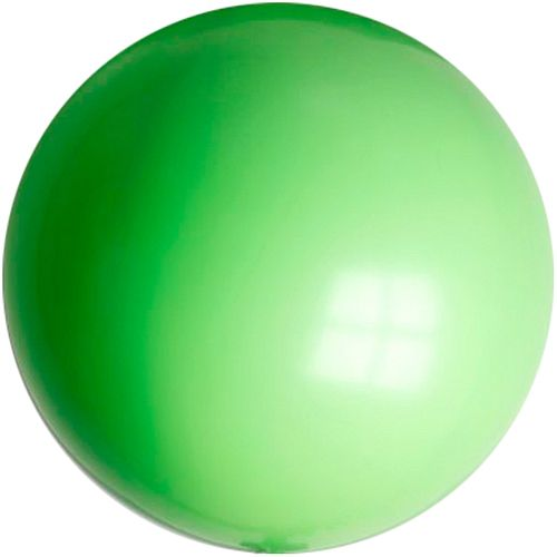 "Lime Green Giant Round Latex Balloons - 24"" - Pack of 10"