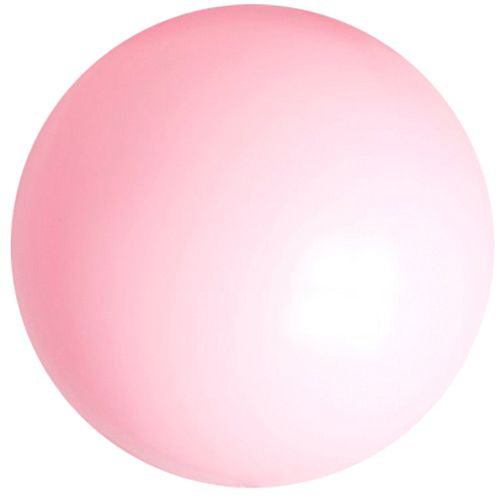 "Pastel Pink Giant Round Latex Balloons - 24"" - Pack of 10"