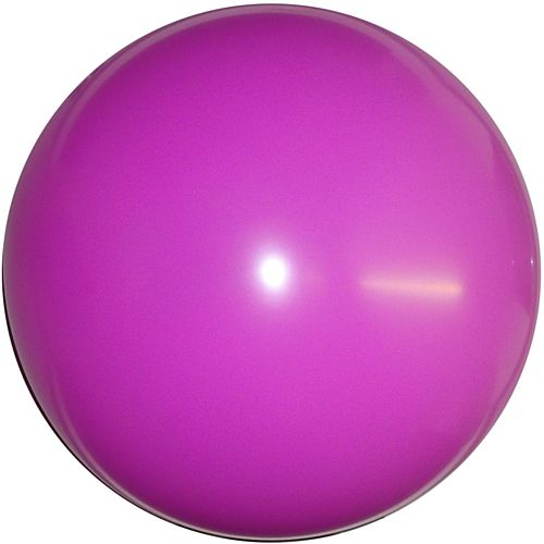 "Fuchsia Pink Giant Round Latex Balloons - 24"" - Pack of 10"