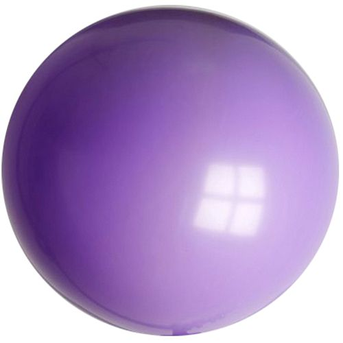 "Violet Purple Giant Round Latex Balloon - 24"" - Pack of 10"