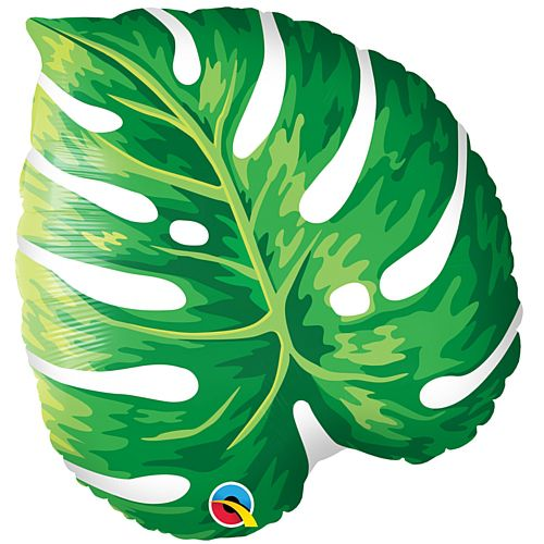Tropical Palm Leaf Shaped Foil Balloon - 53cm