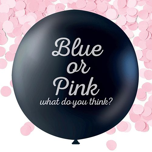 Gender Reveal Balloon - It's a Girl - 36""