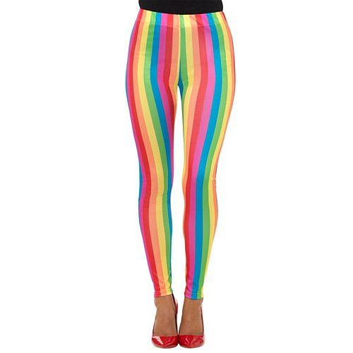 Rainbow Clown Leggings