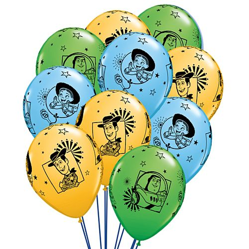 "Toy Story 4 Assorted Latex Balloons - 11"" - Pack of 25"