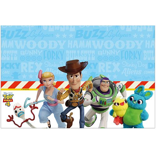 Toy Story 4 Plastic Tablecover - 120cm x 180cm