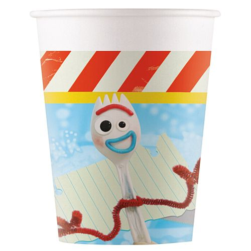 Toy Story 4 Paper Cups - 200ml - Pack of 8