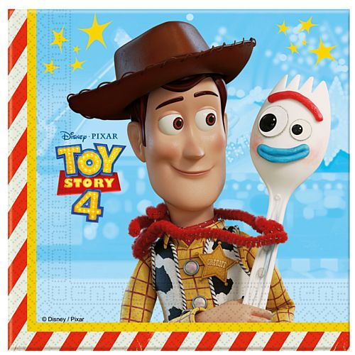 Toy Story 4 Paper Napkins - 33cm - Pack of 20