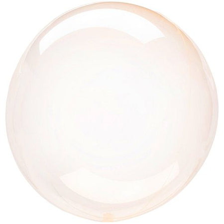 Click to view product details and reviews for Clear Orange Bubble Round Balloon 18.
