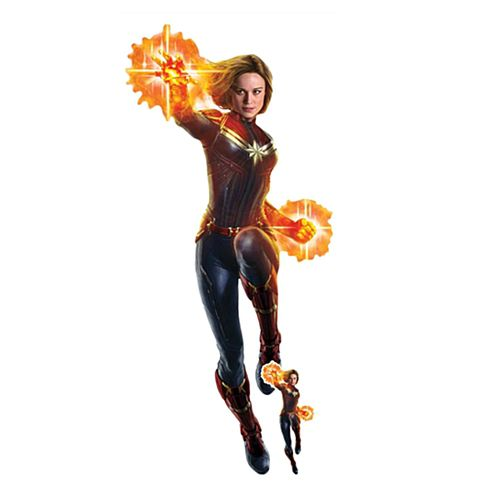 Captain Marvel Cardboard Cutout - 1.77m