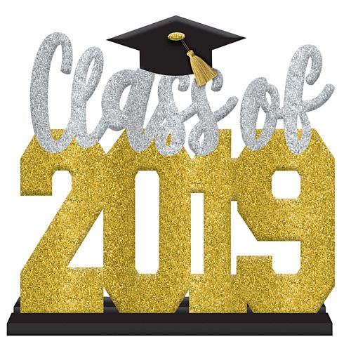 Class of 2019 Graduate MDF Sign - 27cm