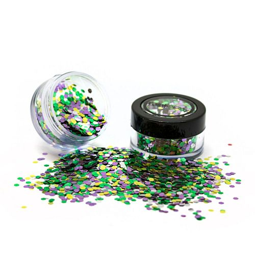 RainForest Green Mix Chunky Biodegradable Glitter - 3g
