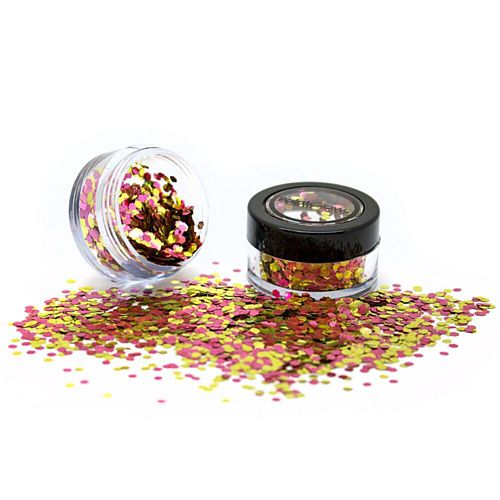 Rose Gold Mixed Chunky Biodegradable Glitter - 3g
