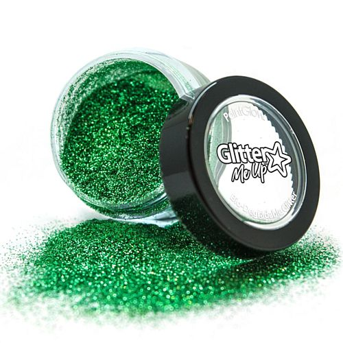 Emerald Green Biodegradable Glitter Dust - 3g