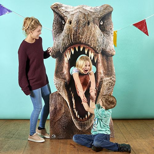Jurassic World T-Rex Dinosaur Stand-In Photo Prop - 1.88m