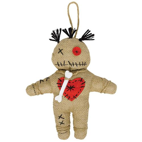 Witch Doctor Voodoo Doll Hanging Prop Decoration