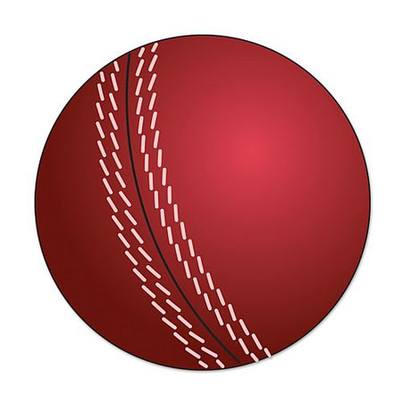Cricket Ball Cutout - 25cm