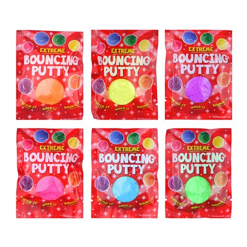 Neon Bouncing Putty - Assorted Colours