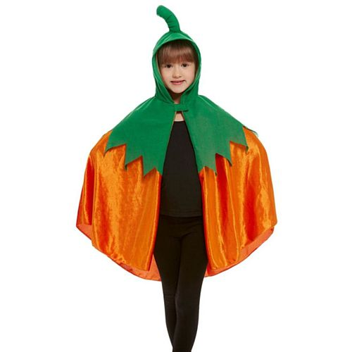 Kids' Halloween Pumpkin Cape