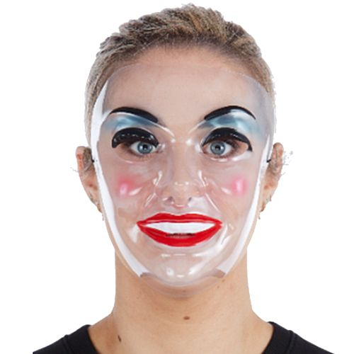 Female Transparent Mask