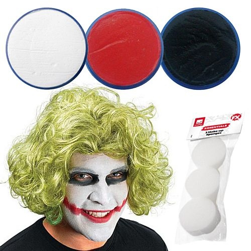 Joker Fancy Dress Make-up Kit