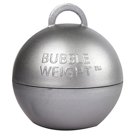 Silver Bubble Balloon Weight - 35g