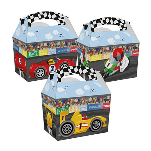 Racing Car Party Box - Each