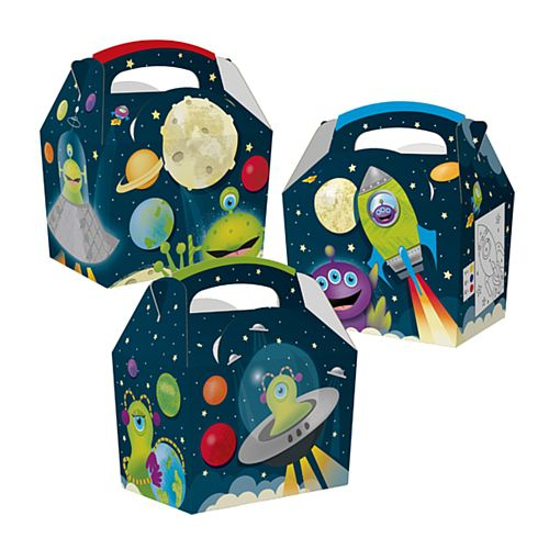 Space Aliens Party Box - Each
