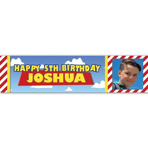 Toys Personalised Photo Banner - 1.2m